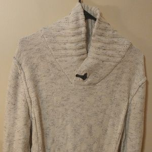 Outpost Makers Buckle Marled Pullover Sweater L